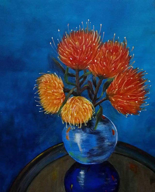 Diane Stewart. Acrylic on canvas.