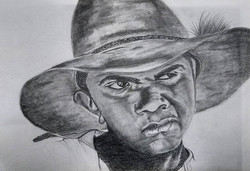 Rhonda Cooper. Graphite Pencil on paper.
