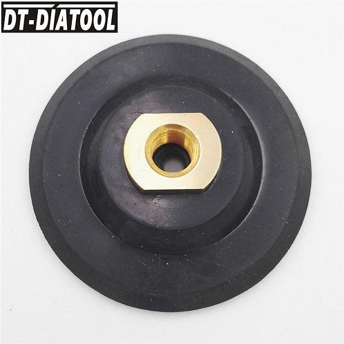 Rubber Diamond Polishing Backer Pad M14 100MM