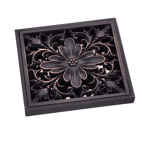 Vintage Ornate Shower Grate