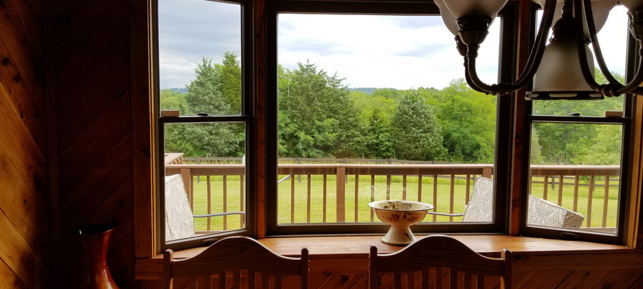 OPTO Main Lodge - Kitchen Window