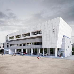 망미초등학교 다목적강당