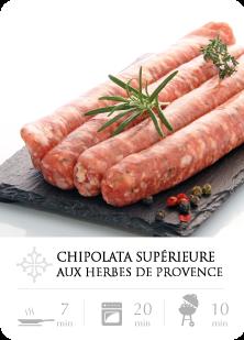 Chipolata Supérieure aux herbes de Provence