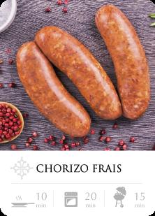 Chorizos à Cuire