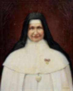 Portrait à l'huile  signé 73 x 60