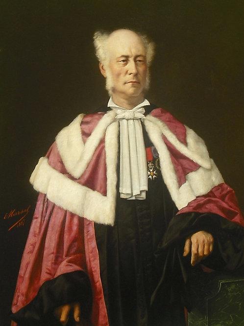 Edouard  Antoine Marsal   Grand Portrait 133 X 95 -   1845