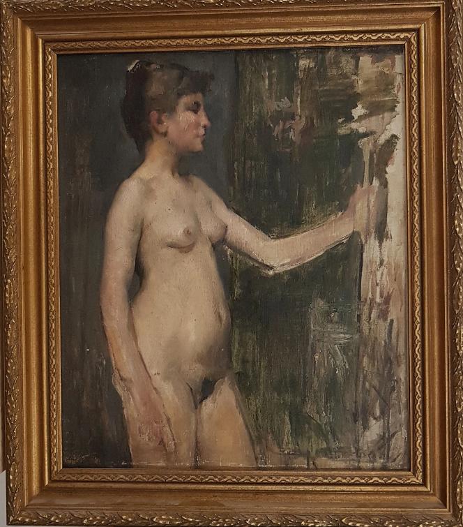 Portrait en buste JC Danguy (1863-1926)_