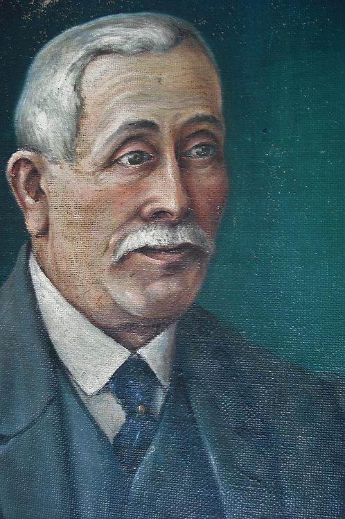 Portrait dédicacé et  signé  PChoret  -  1927