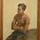 Thumbnail: Portrait signé Van Beylen 119 x 88cm