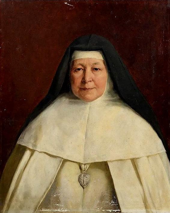Portrait à l'huile signé 66 x 55