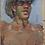 Thumbnail: Portrait    signé  Tarasenko Dmitriy (1980-)