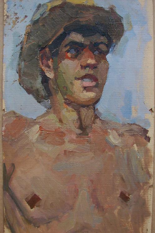 Portrait    signé  Tarasenko Dmitriy (1980-)