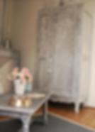 """Trumeau, cheminée marbre Suite 1 """" Mansart House"""""""