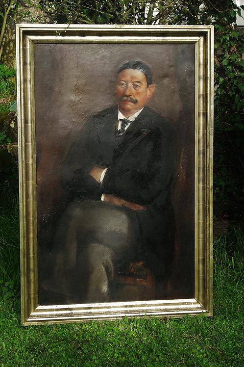 Portrait Léon de Vos 130 x 80   -