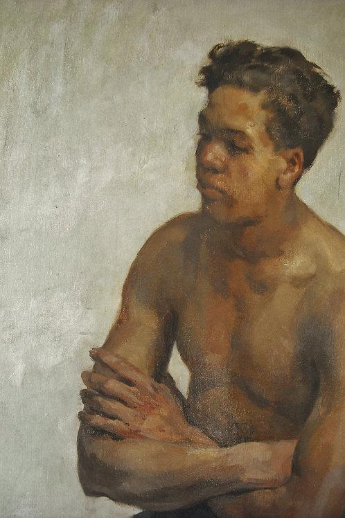 Portrait signé Van Beylen 119 x 88cm
