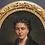 Thumbnail: Portrait à vue ovale d'une dame de qualité   19 ème - 80 x70