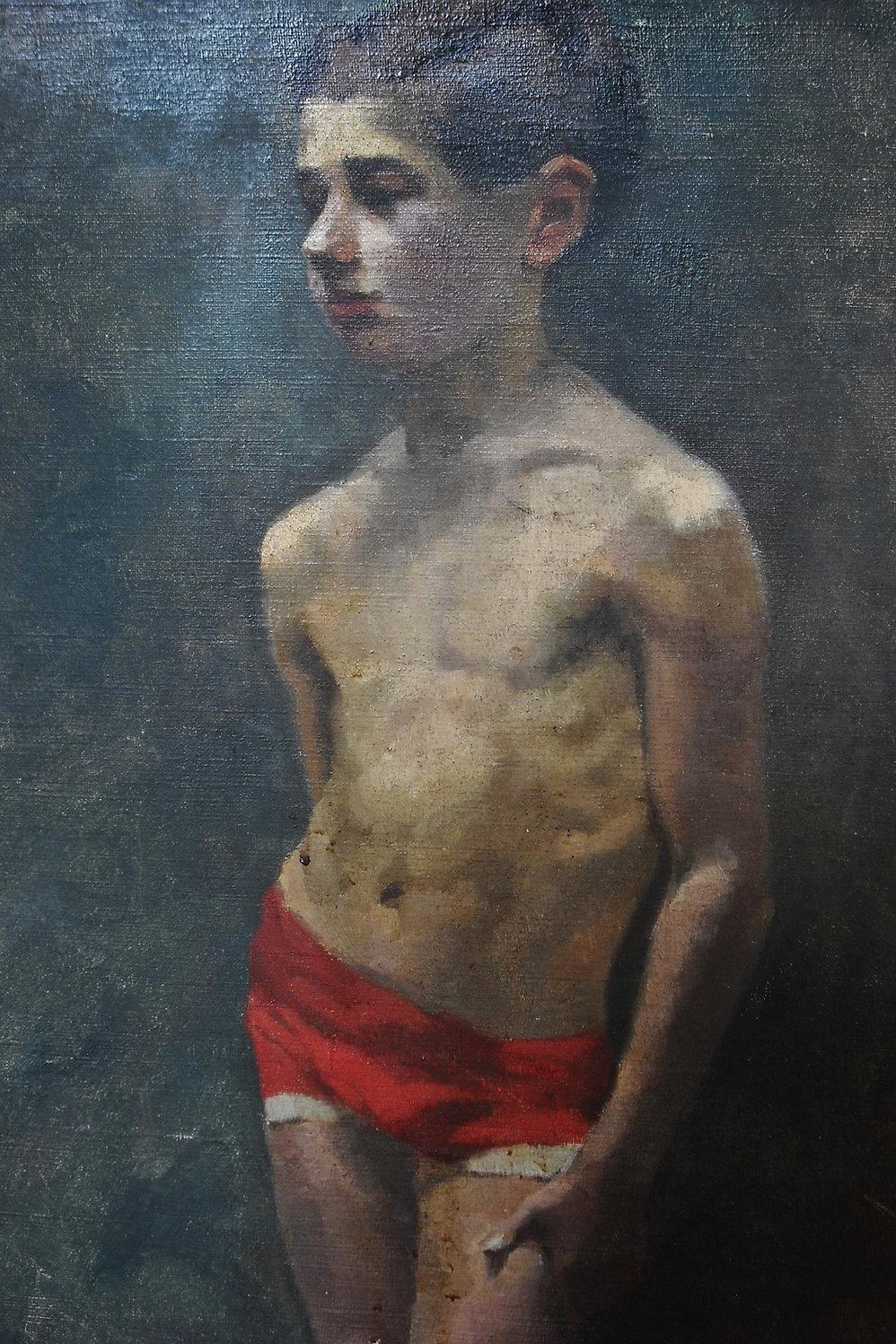 Huile sur toile signée Fourcade 80 x 50 cm