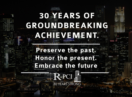 30 Years of Groundbreaking Achievements- Preserve the Past. Honor the Present. Embrace the Future.