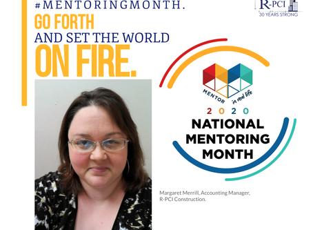 Mentor Spotlight: Margaret Merrill, Accounting Manager.