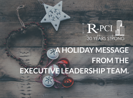 "A Holiday Message from the Executive Leadership Team: ""We'd Just Like to Say..."""
