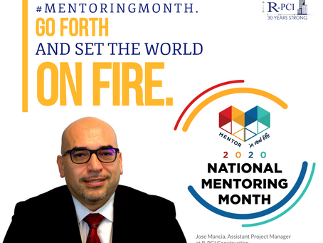 Mentor Spotlight: Jose Mancia, Assistant Project Manager.