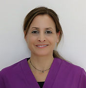 Mónica Jiménez, higienista dental