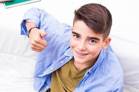 Ortodoncia infantil con brackets en Sant