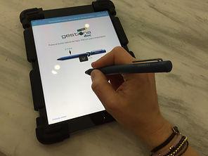 Tablet para firma digita de documentos