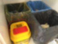 Cubos de reciclado