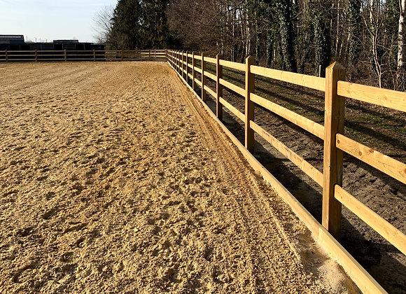 Ranche groen geïmpregneerd