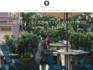 Gentleman's Ambition Website Redesign