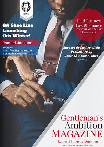 Digital Copy: Gentleman's Ambition Magazine Issue 04