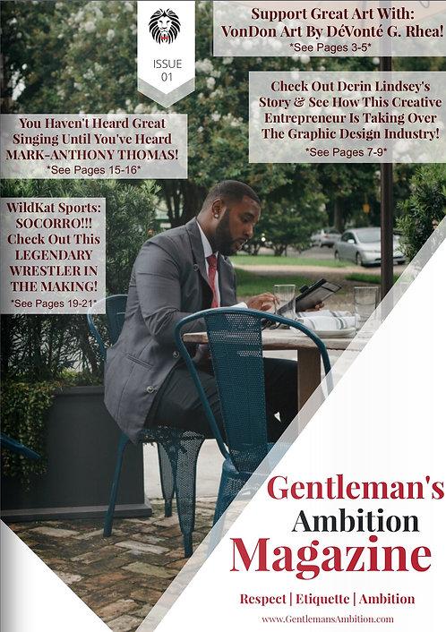 Digital Copy: Gentleman's Ambition Magazine Issue Issue 01