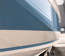 Nano ceramic coating and custom boat paint