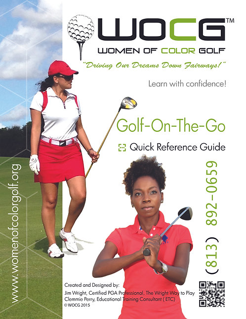 WOCG Training Manual - Golf on the Go - Quick Reference Guide