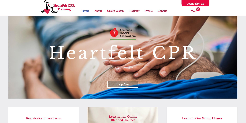 Heartfelt CPR Training