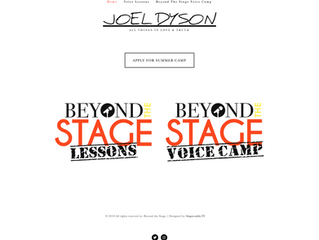 Beyond the Stage Voice Camp