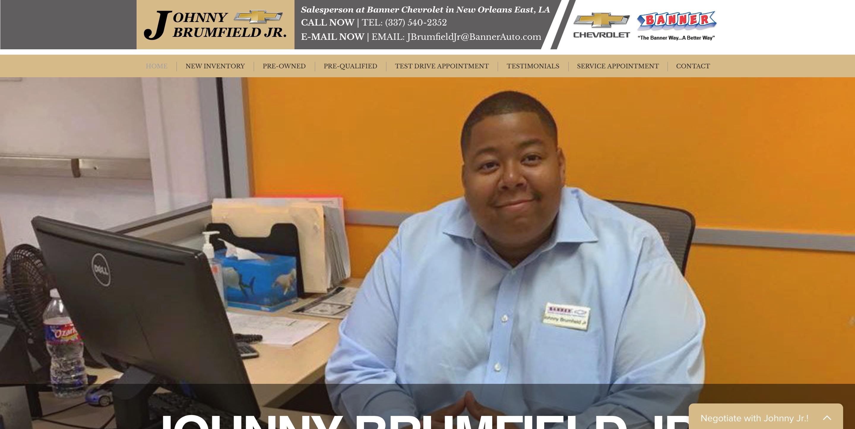 Johnny Brumfield Jr.