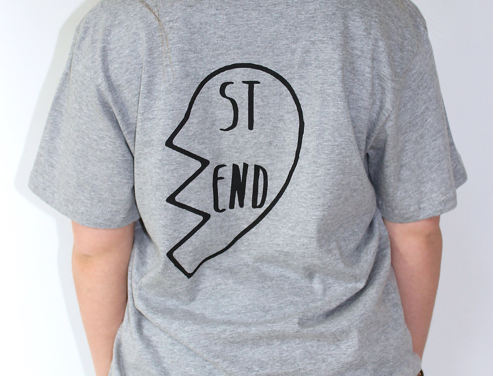 'ST' 'END' Tee