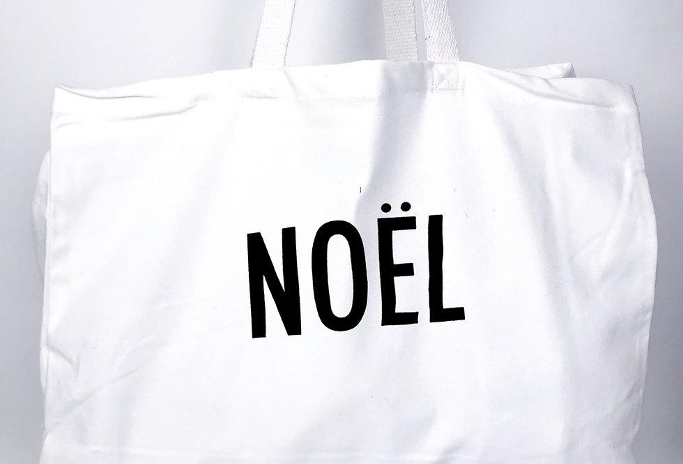 Noel White Tote Bag
