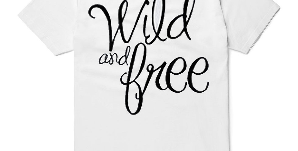 Wild and Free Childrens Tee