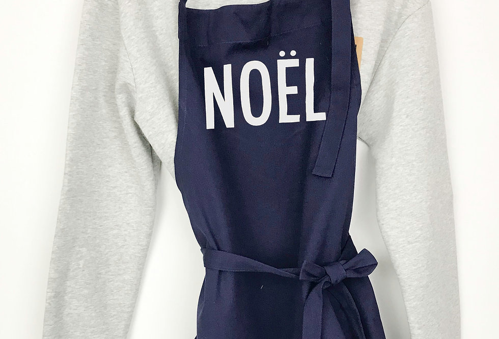 Noel Navy Apron