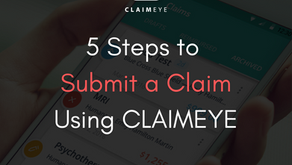 5 Steps to Submit a Claim with CLAIMEYE