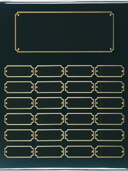 Black Piano Finish Plaque