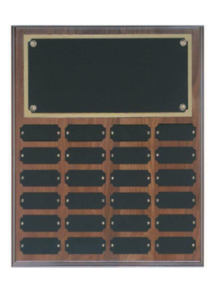 Genuine Walnut Plaque