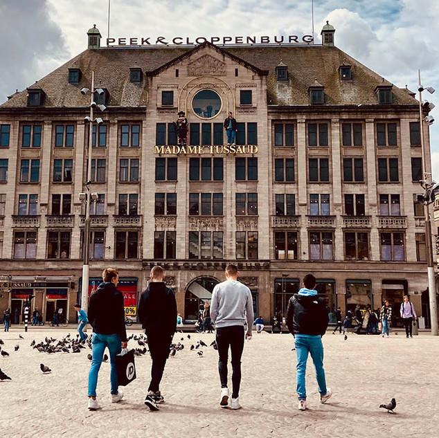 Touristy Amsterdam