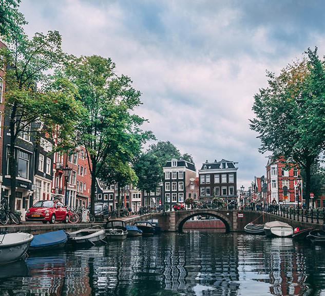 Amsterdam canal