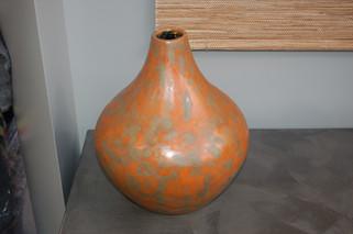Vase en béton ciré