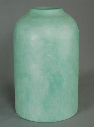 Petit vase turquois