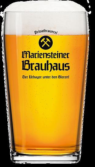 Mariensteiner Brauhaus Bierglas